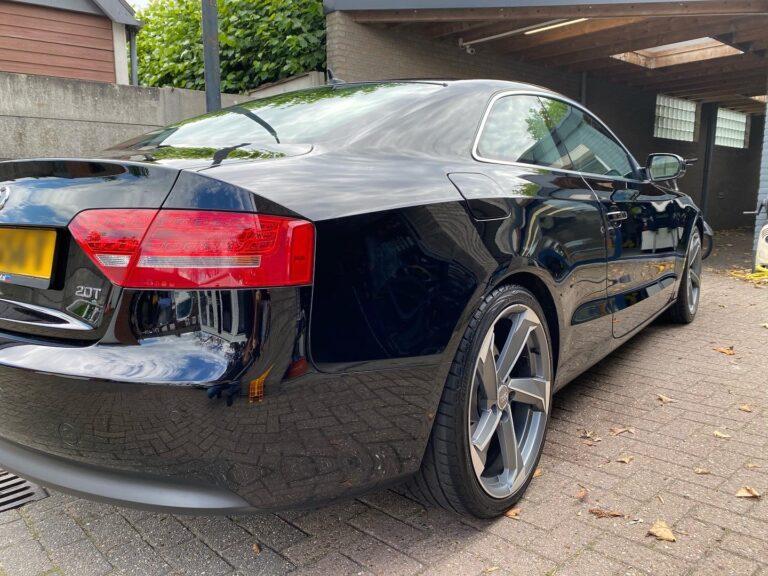 Audi A5 Coupe Zwart