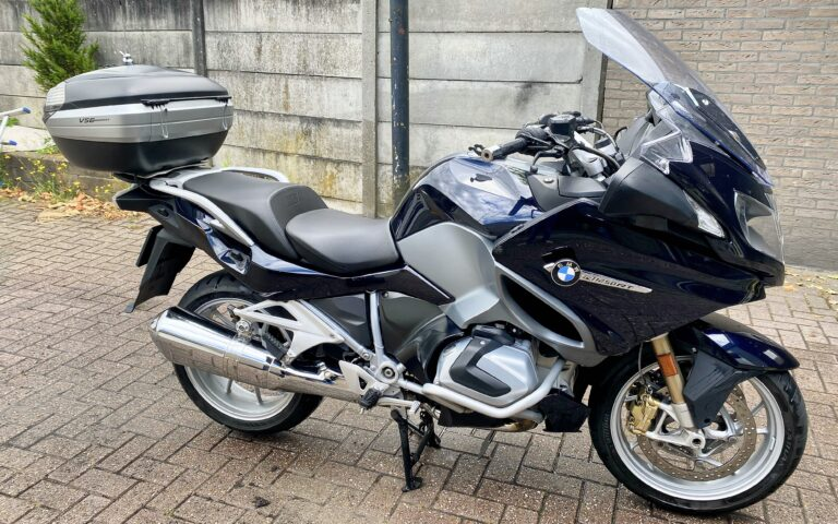 BMW R 1250 RT Cleaning