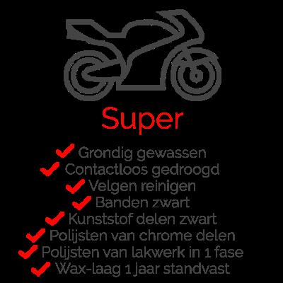 Pakket Super voor uw motor