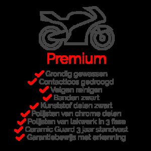 Pakket Premium voor uw motor