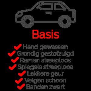Pakket Basis voor uw auto
