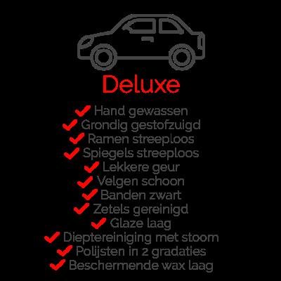 Pakket Deluxe voor uw auto