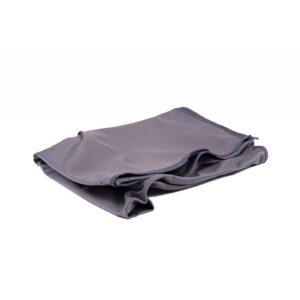 Microvezeldoek glasfluweel top silk grijs 50x70